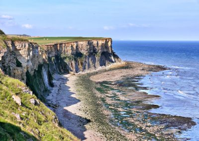 Gold Beach : Arromanches (crédit photo : calvados tourisme)