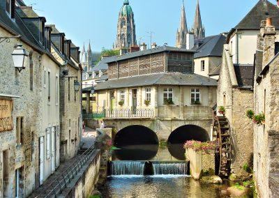 Le Bessin : Bayeux (crédit photo : calvados tourisme)
