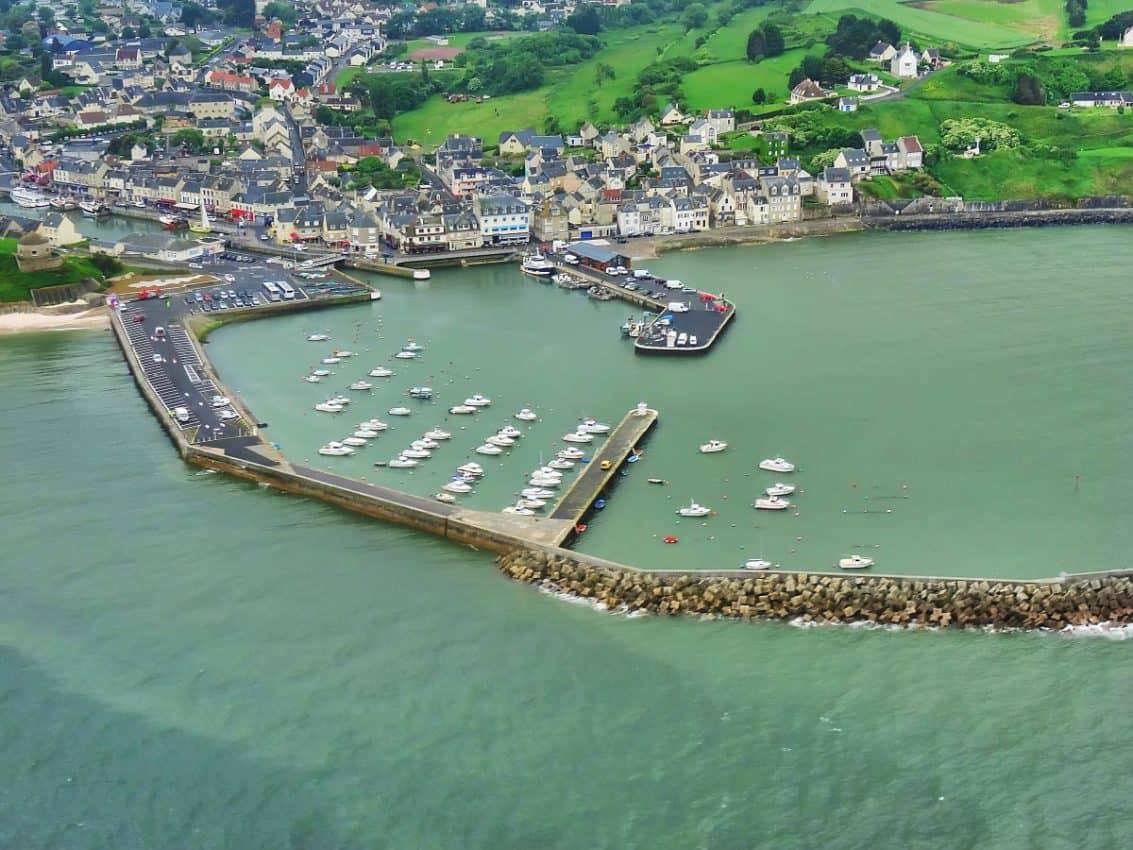 Port en Bessin (crédit photo : calvados tourisme)