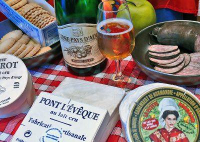 Gastronomie Normande (crédit photo : calvados tourisme)